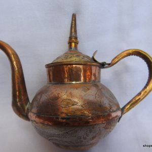Tea pot 14x14 centimetre 140 gram Copper