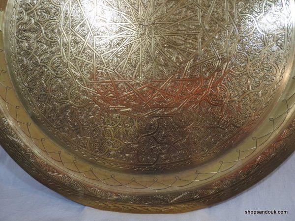 Large Tray 69 centimetre 3000 gram Vintage
