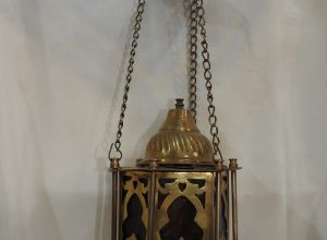 Ceiling Lantern 20x11 centimetre 400 gram yellow 9SP 6 Oxidized