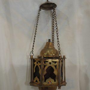 Ceiling Lantern 20x11 centimetre 400 gram yellow 9SP 6 Oxidized