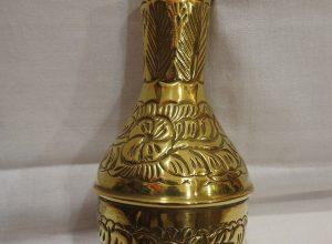 Vase 21x11 centimetre 265 gram Brass