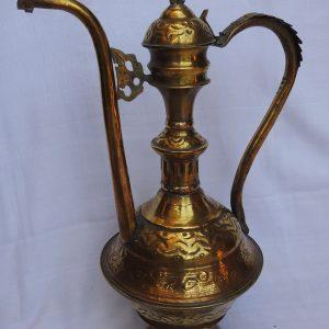 Water pot 48x31 centimetre 1245 gram Brass