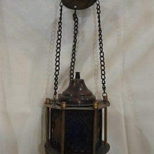 Ceiling Lantern 20x11 centimetre 400 gram Oxidized