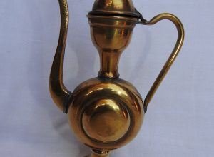 Tea pot 30x25 centimetre 750 gram Brass
