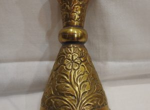 Vase 21x10 centimetre 215 gram Brass