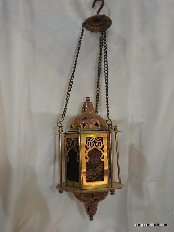 Ceiling Lantern 27x14 centimetre 650 gram yellow Brass