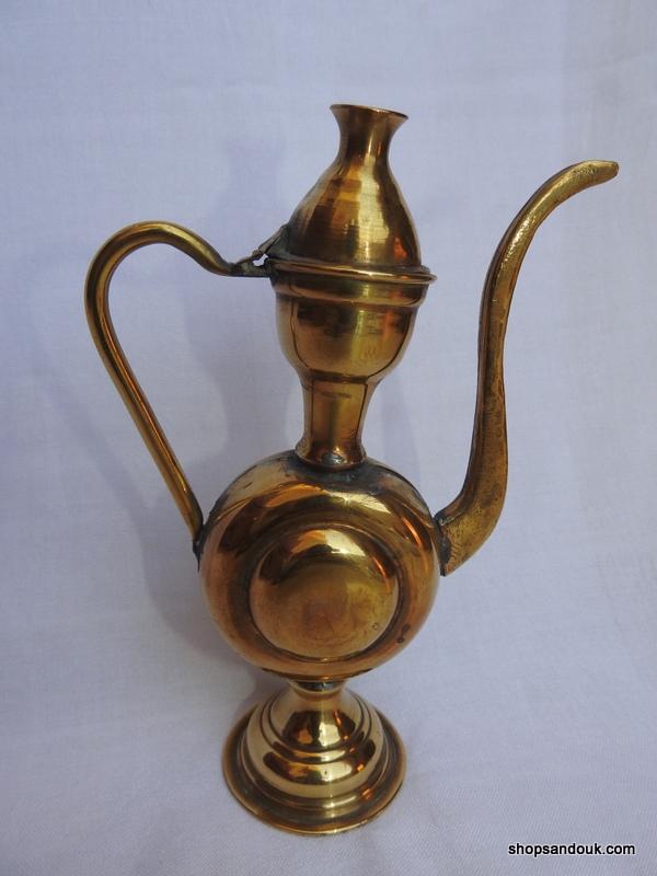 Tea pot 20x13 centimetre 230 gram Brass