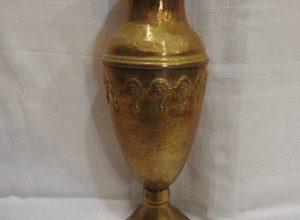 Vase 23x9 centimetre 200 gram Brass