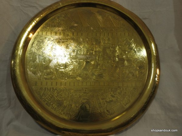 Large Tray 70 centimetre 3000 gram Vintage