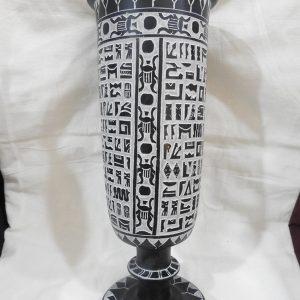 Vase 32X12 centimetre 2445 gram Bazalt