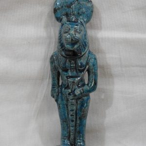 Limestone Statue Sekhmet 16x4x4 centimetre 245 gram Porcelain