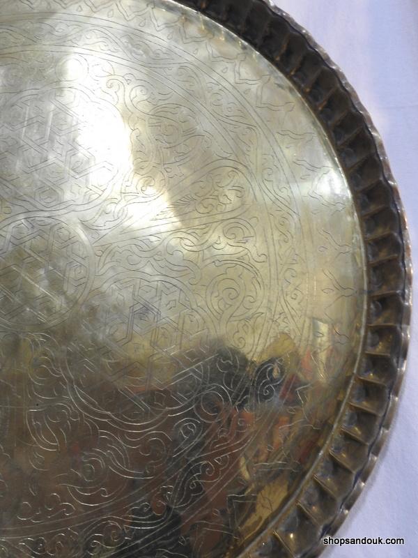 Large Tray 82 centimetre 5500 gram Vintage
