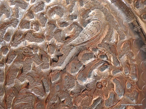 Tray 38 centimetre 810 gram copper