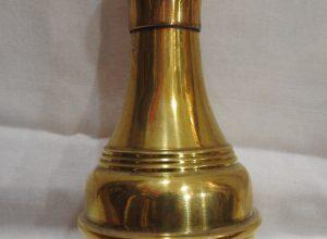 Vase 19x10 centimetre 160 gram Brass