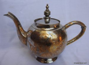 Tea pot 20x27 centimetre 955 gram Brass