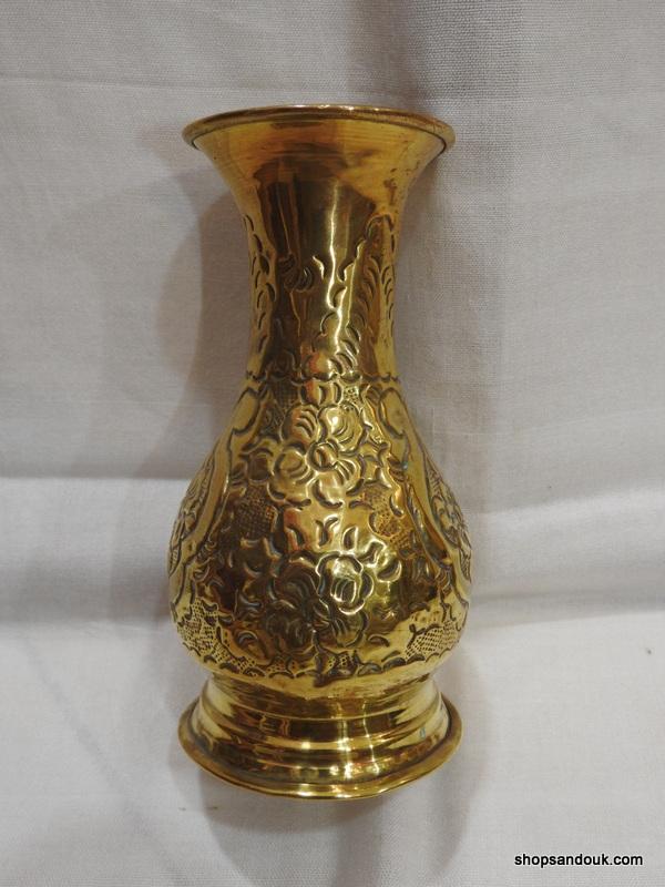 Vase 18x10 centimetre 195 gram Brass