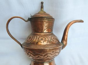 Tea pot 20x23 centimetre 660 gram Copper