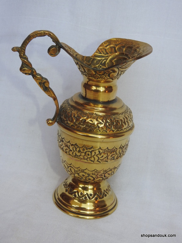 Water pot 17x13 centimetre 205 gram Brass