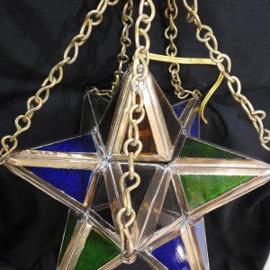 Ceiling Lantern 30x30 centimetre 1880 gram Brass