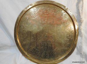Large Tray 65 centimetre 3500 gram Vintage