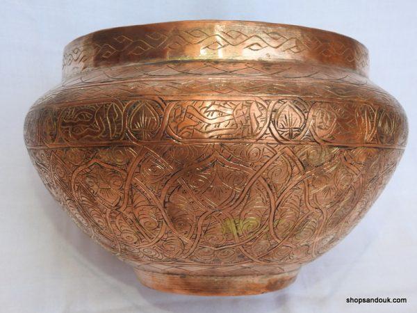 Plant pot 30x18 centimetre 1685 gram copper