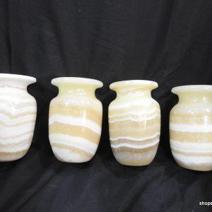 vase 13x8 centimetre 850 gram Alabaster