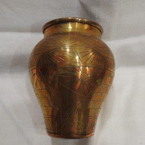 Vase 13x10 centimetre 150 gram Brass