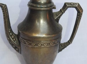 Tea pot 27x21 centimetre 625 gram Copper
