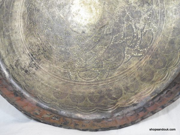 Large Tray 70 centimetre 3300 gram Vintage