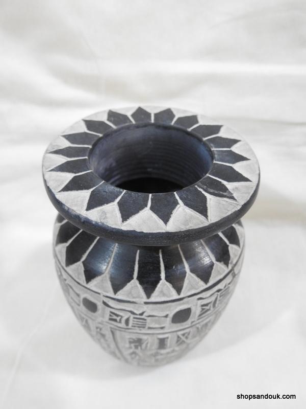 Vase 14x8 centimetre 690 gram Bazalt