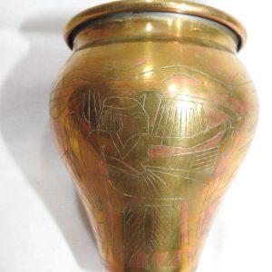 Vase 11x10 centimetre 125 gram Brass