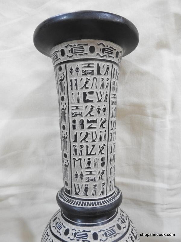 Vase 33x12 centimetre 2890 gram Bazalt