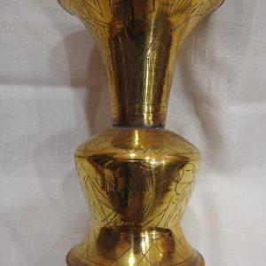 Vase 14x9 centimetre 95 gram Brass
