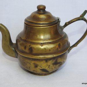 Tea pot 13x19 centimetre 270 gram Brass