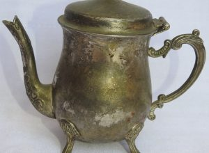 Tea pot 14x15 centimetre 205 gram Brass
