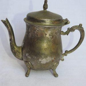 Tea pot 14x15 centimetre 205 gram Brass