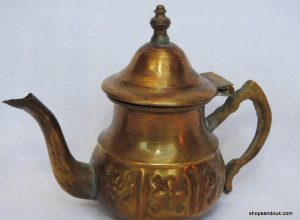 Tea pot 10x13 centimetre 90 gram Copper