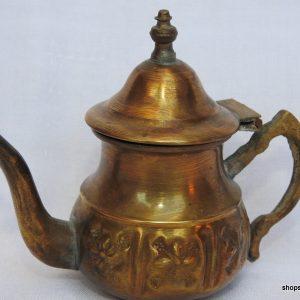 Tea pot 10x13 centimetre 90 gram Copper