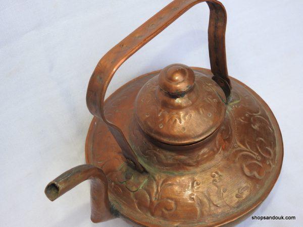 Tea pot 20x24 centimetre 600 gram Copper
