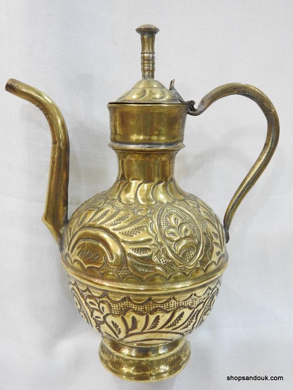 Tea pot 24 centimetre 380 gram Brass