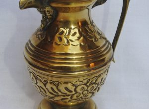Water pot 16x12 centimetre 215 gram Brass