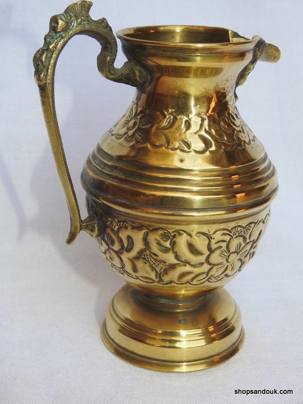 Water pot 16x12 centimetre 215 gram Brass