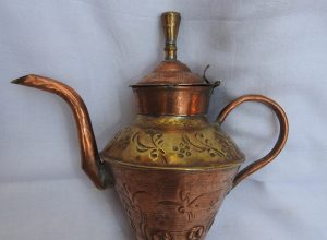 Tea pot 15x20 centimetre 140 gram Copper