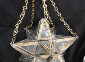 Ceiling Lantern 22x22 centimetre 900 gram Brass