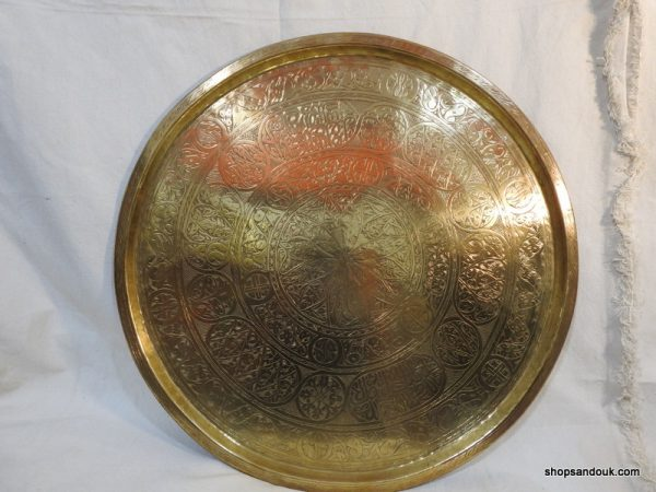 Large Tray 65 centimetre 3750 gram Vintage