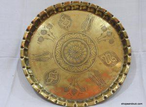 Tray 35 centimetre 780 gram Vintage