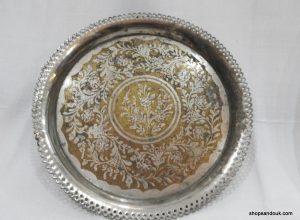 Tray 34 centimetre 665 gram Vintage