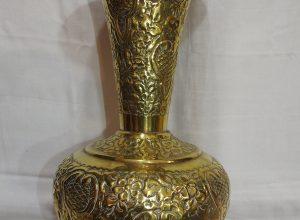 Vase 42x26 centimetre 1800 gram Brass