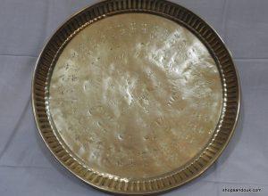 Tray 38 centimetre 780 gram Vintage