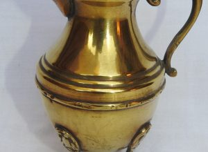 Water pot 15x12 centimetre 210 gram Brass